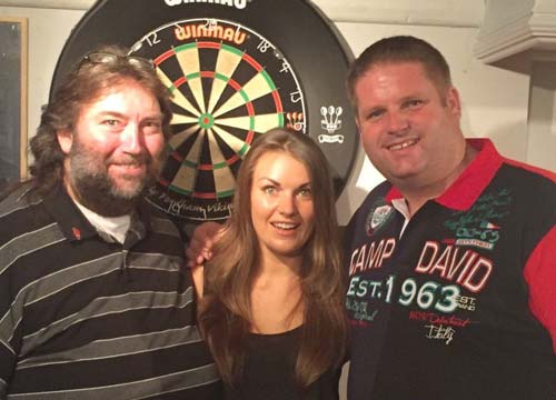 Andy Fordham - Darts Player and Laure James - Sports Reporter