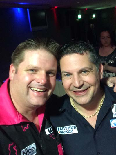 Gary Anderson - Darts player