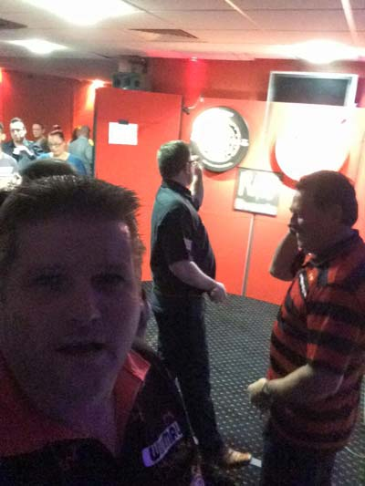 James Wade and Dennis Priestley - Darts players