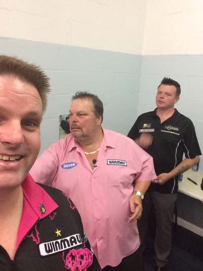Peter Manley and Chris Mason - Darts players