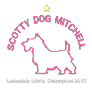 Scotty Dog Mitchell Logo Small