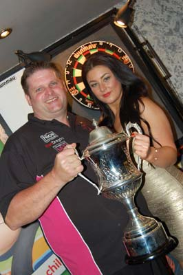 Charity Night at the Horns Inn with PDC Walk on Girl Katie Elizabeth