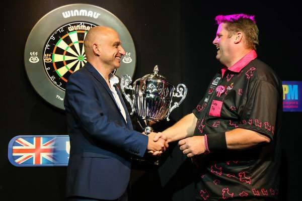 Legends of Darts Masters Champion