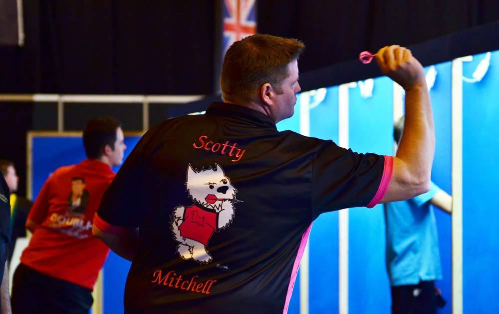 Scott in Action at Hal Open 2015