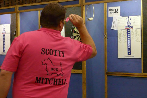 Antwerp Open 2010 Darts - Scott Mitchell