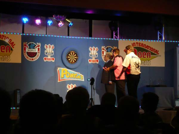 British International 2010 Darts - Scott Mitchell v Martin Adams