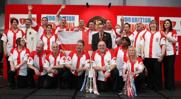 British Internationals 2012 Darts - England Team