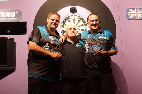 British Open Pairs Champions 2017 Darts - Scott Mitchell and Ross Montgomery