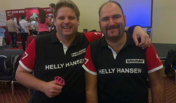 Czech Open 2012 Darts - Pairs Scott Mitchell and Scott Waites
