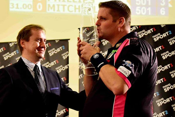 Czech Open 2017 Darts Champion Scott Mitchell