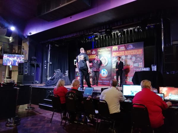 England Matchplay Darts 2018 - Scott Mitchell v Jeffrey Sparidaans