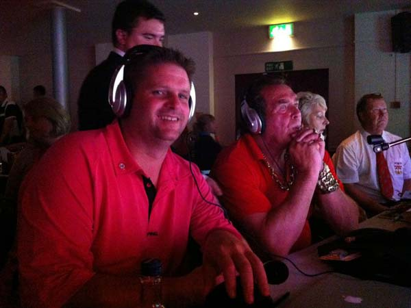 England Open 2012 Darts - Scott Mitchell commentating on EDO Live Stream