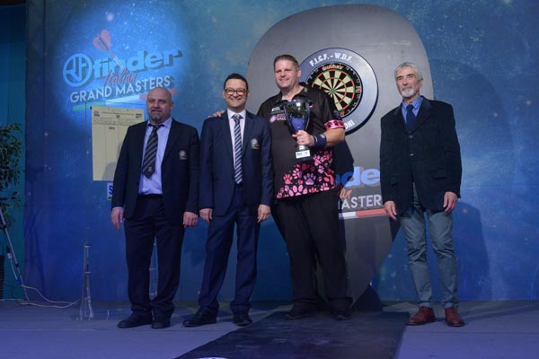 Finder Italian Grand Masters 2018 Darts - Scott Mitchell