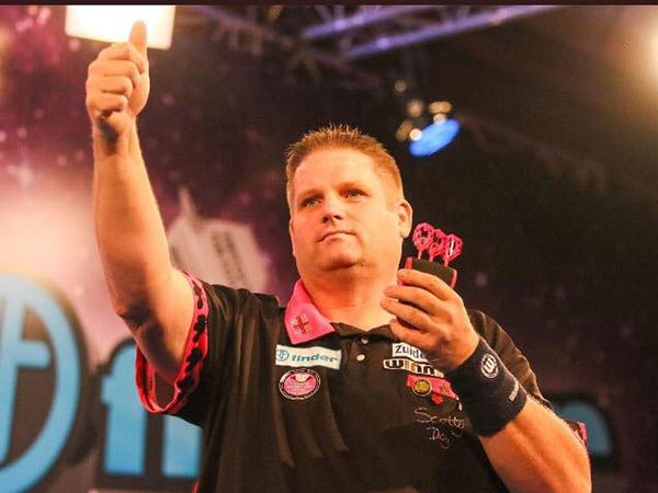 Finder Masters 2017 Darts - Scott Mitchell