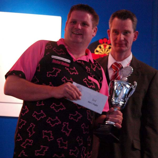 German Open 2012 Darts - Semi-Finalist Scott Mitchell