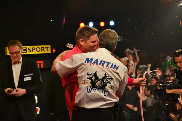 Lakeside 2012 Darts - Scott Mitchell v Martin Adams