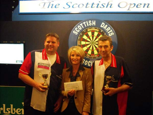 Scottish Open 2012 Pairs Runners Up Darts - Scott Mitchell and Roy Brown