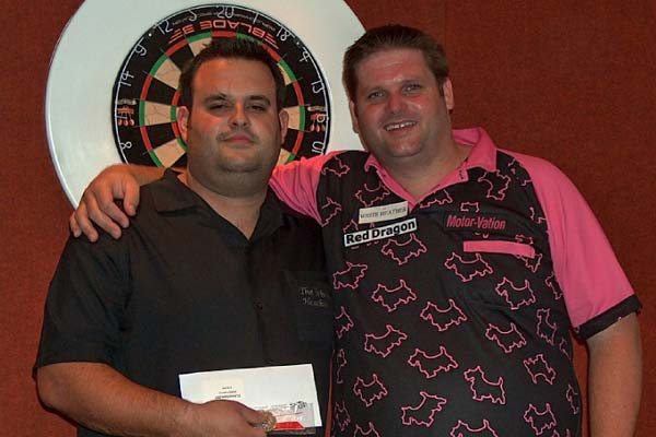 Swiss Open 2010 Pairs Runners Up Darts - Scott Mitchell and Eddie White