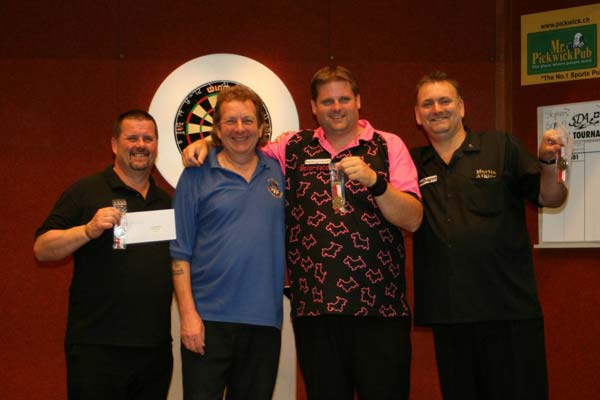 Swiss Open 2012 Darts - Pairs Semi-Finalists Scott Mitchell and Martin Atkins