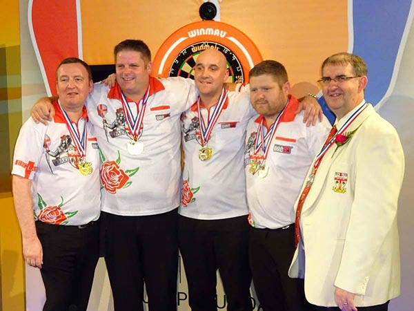 WDF Europe Cup 2016 Runners Up England Men Darts