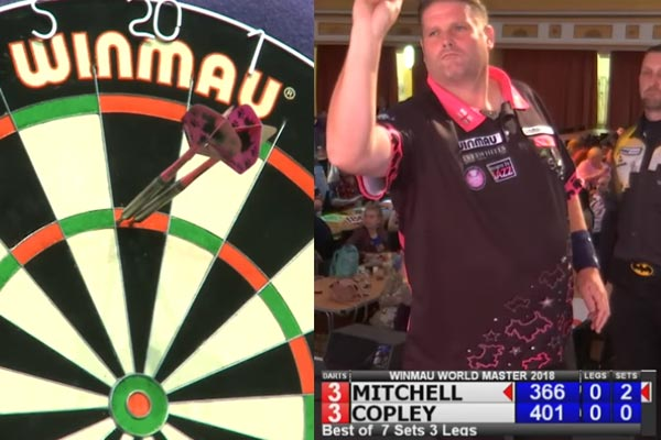 Winmau World Masters 2018 Darts - Scott Mitchell v David Copley