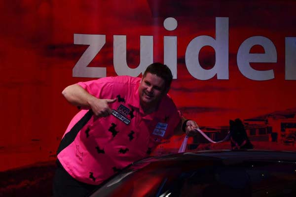 Zuiderduin Masters 2012 Darts - Scott Mitchell Walk on