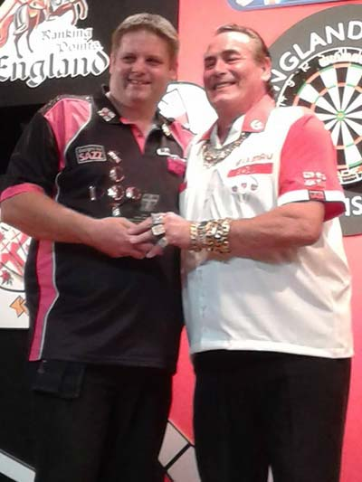 England Matchplay Champion 2014 with Bobby George - Scott Mitchell Timeline