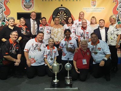 Europe Cup 2018 Team Winners England - Scott Mitchell Timeline